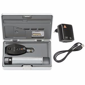 Coffret Ophtalmoscope BETA 200 LED sur manche USB HEINE