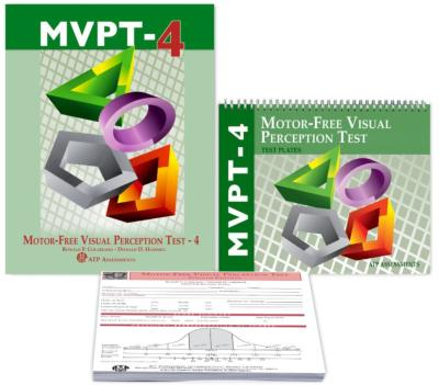 Motor Free Visual Perceptual Test 4th  Edition - Complete Kit-MVPT-4